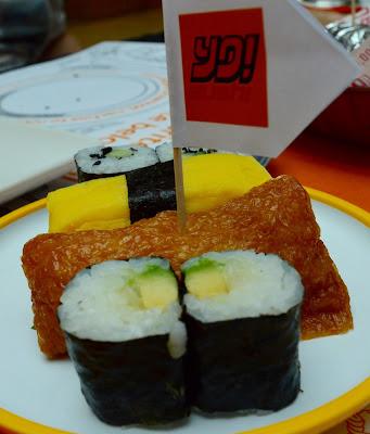 Our Guide to Family Restaurants & Children's Menus at intu Metrocentre - Yo Sushi