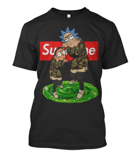 Rick and morty supreme T-Shirt