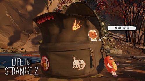 Life is Strange 2: Decorating Backpack