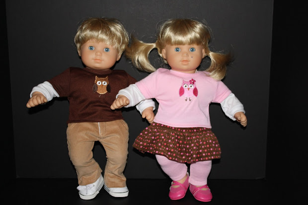American Girl And Bitty Baby Clothes Dolls