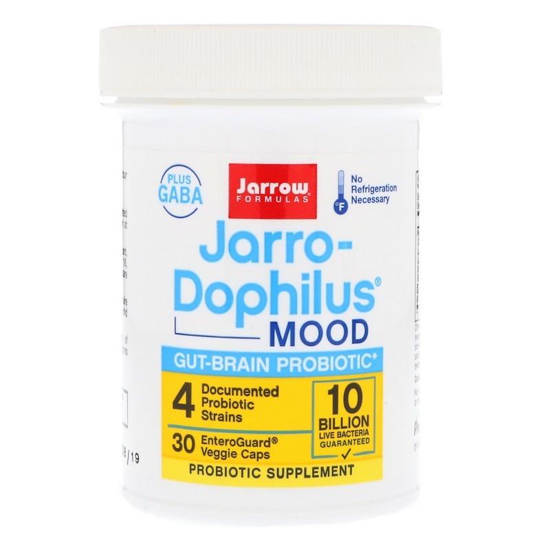 Jarrow Formulas, Jarro-Dophilus Mood, 10 Billion, 30 EnteroGuard Veggie Capss