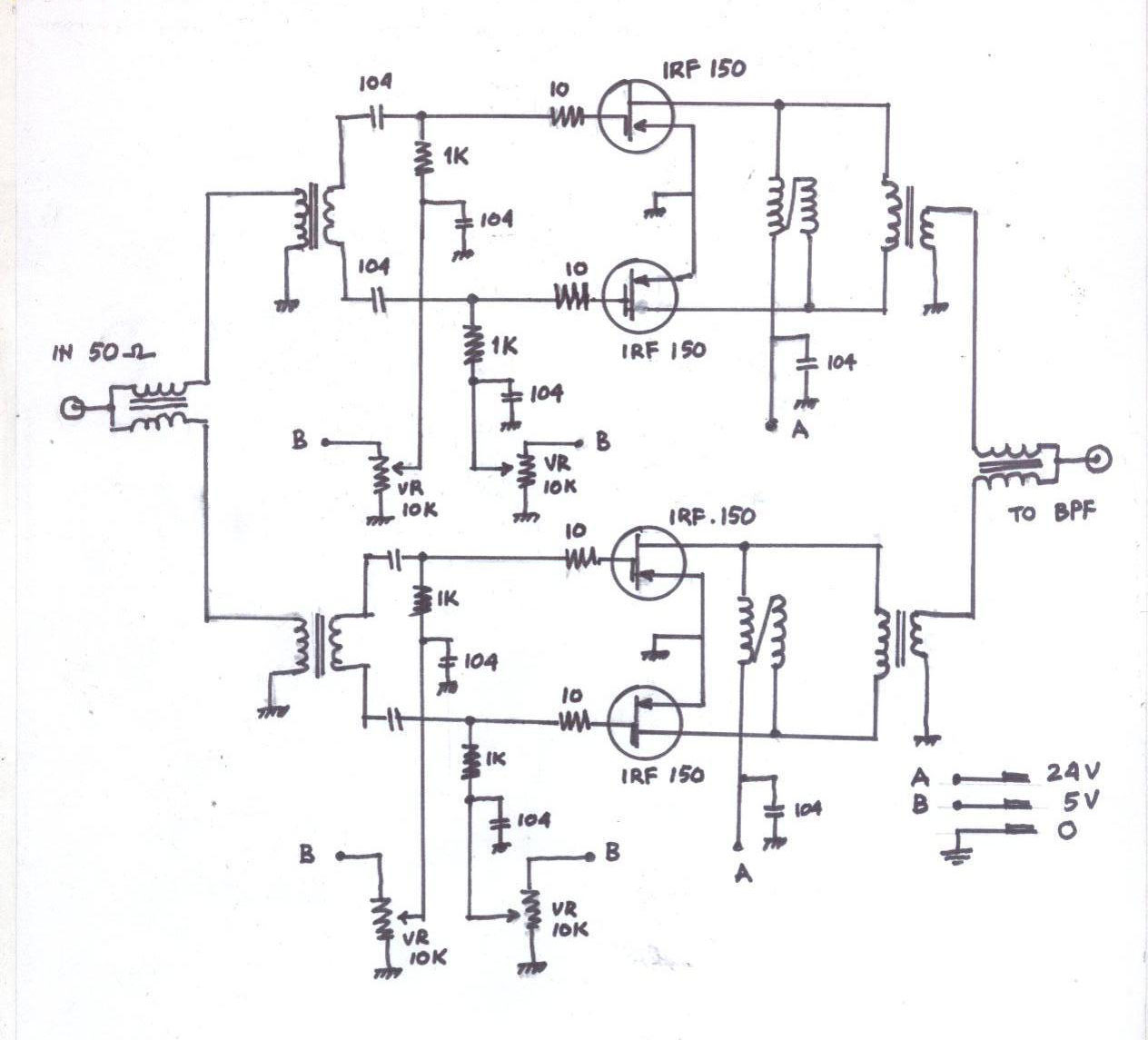 Rf Linear Amplifier 300w Rf Amplifier Using Low Priced Mosfet