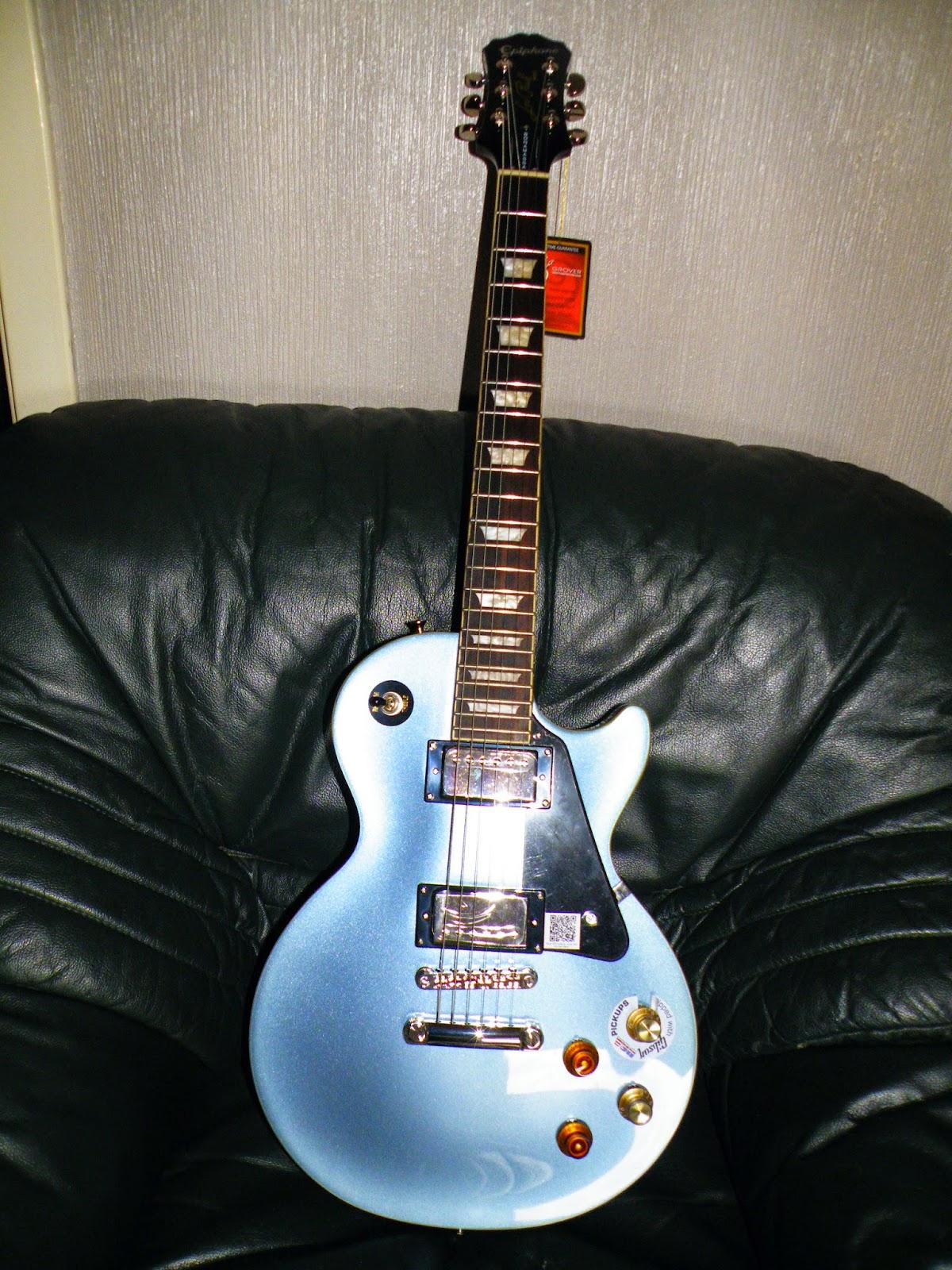 guitarra epiphone limited edition joe bonamassa les paul standard outfit pelham blue. Black Bedroom Furniture Sets. Home Design Ideas