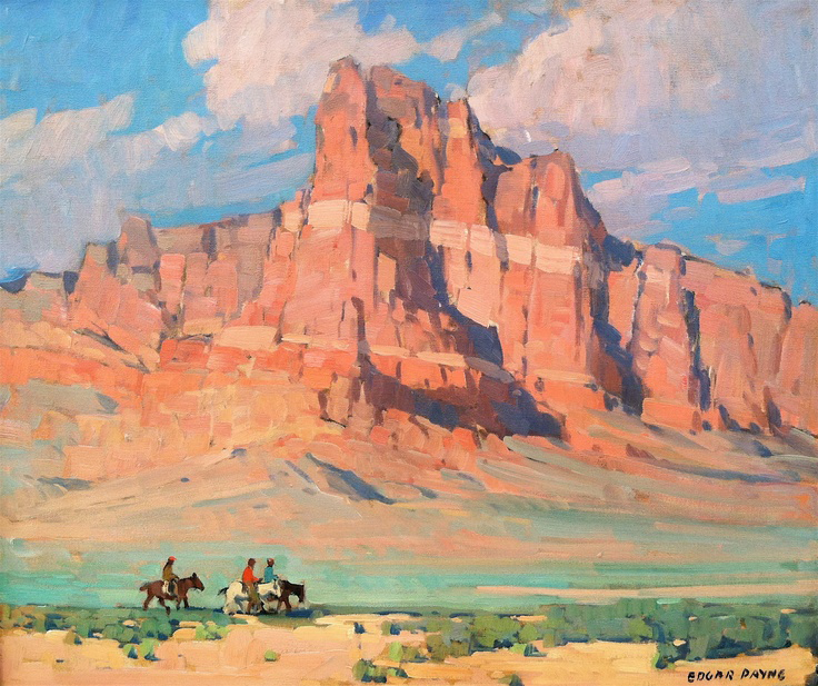 Arizona Mesa by Edgar Payne