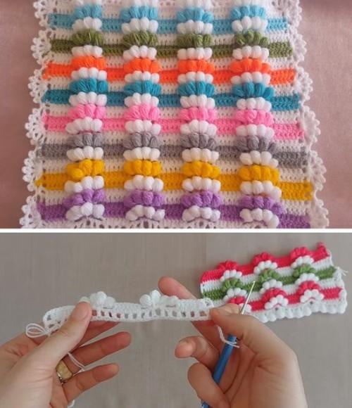 Tiny Blanket - Crochet Tutorial