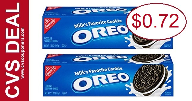 CVS Deal on Oreo Cookies $0.72 8-18 8-24