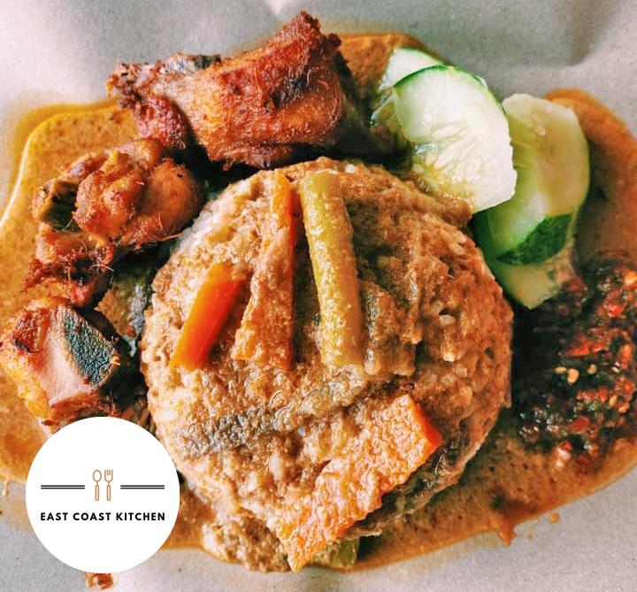 Nasi Kakwok Sedap Skudai di East Coast Kitchen, U-Mall, Taman Pulai Utama