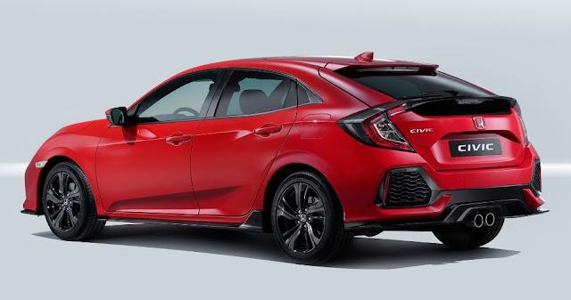 Honda Civic Hatchback 2017 - Un diseño emblematico