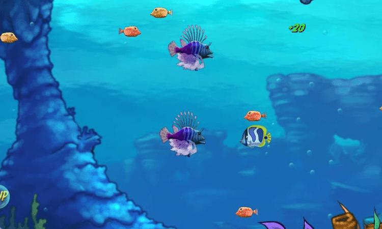تحميل لعبة السمكة القديمة feeding frenzy للكمبيوتر برابط مباشر