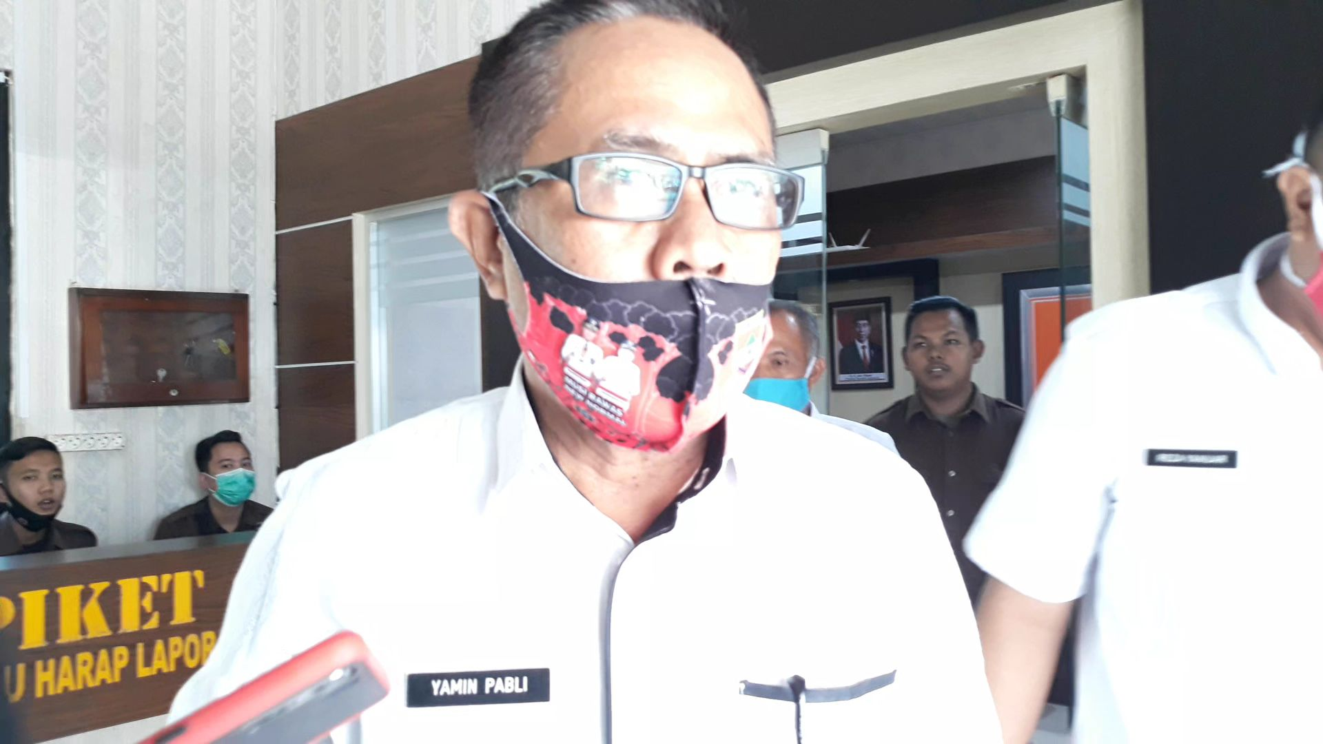 Kadis Koperasi Dan UKM Musirawas Diperiksa Penyidik Kejari