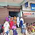गिद्धौर : बैंक ऑफ इंडिया में उमड़ रही भीड़, ग्राहक भूल रहे मास्क का उपयोग और सोशल डिस्टेनसिंग
