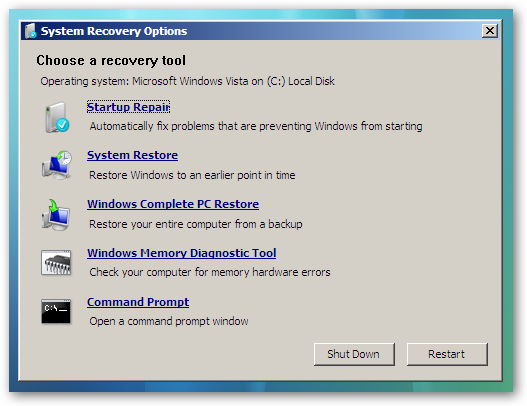 repair windows 7, memperbaiki BOOTMGR, tips dan trik