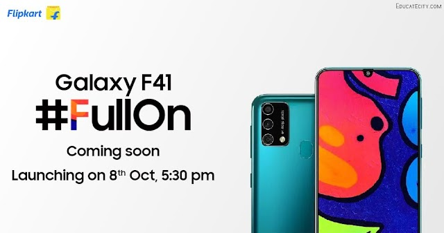 Samsung Galaxy F41 Launch Date In India