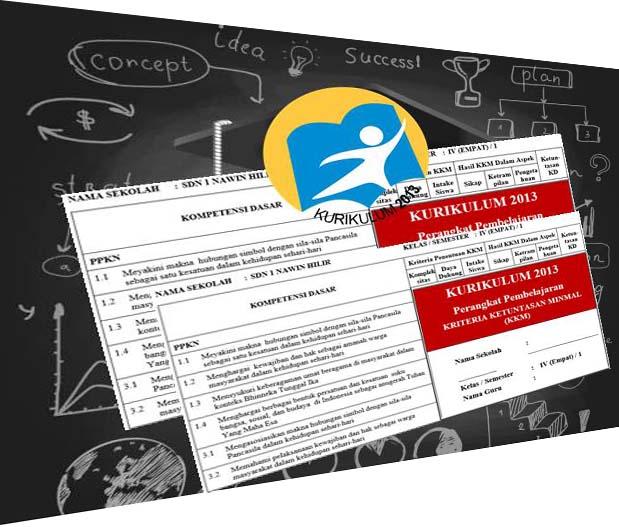 KKM, Prota dan Promes Kelas 4 SD Kurikulum 2013 Revisi Lengkap