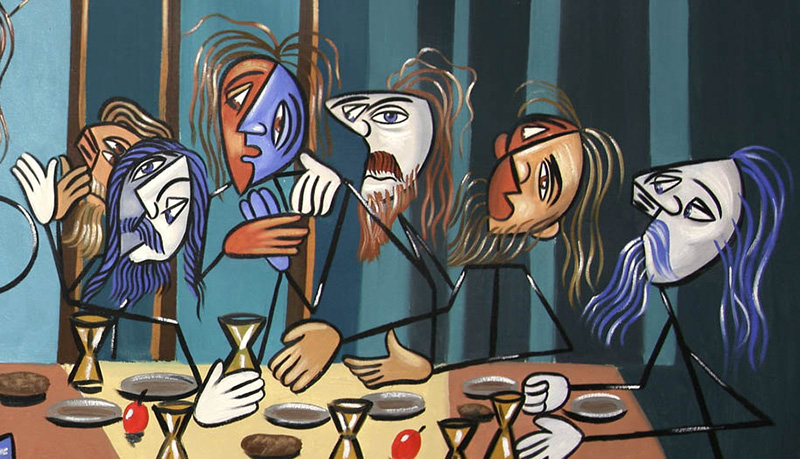 The Last Supper by Anthony Falbo (detail)
