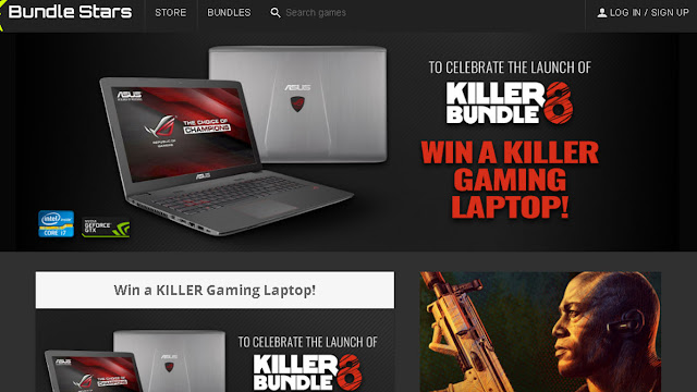 Bundle Stars Is Giving Away A KILLER Gaming Laptop