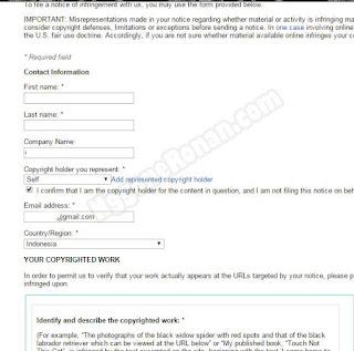 Melaporkan Orang yang Mencuri Artikel Blog - NggoneRonan