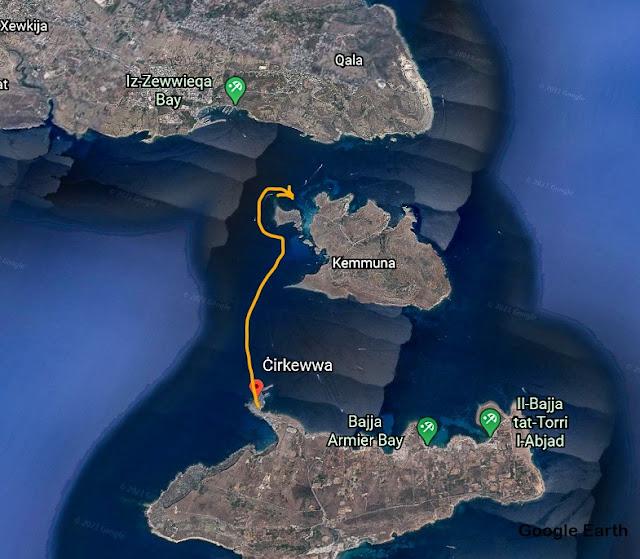 Viagem à Lagoa Azul de Malta