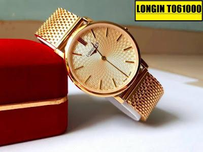 Đồng hồ dây lưới Longine T061000