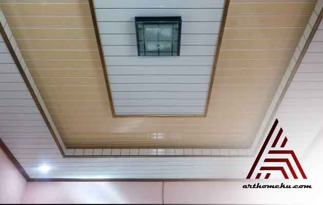Harga plafon PVC Terpasang Depok