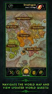 Download World Of Warcraft Legion Companion v1.0.0 Apk Screenshot 2