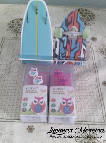 Quero mostrar as compras que fiz na loja do Gorila Clube, uma loja online de presentes criativos.