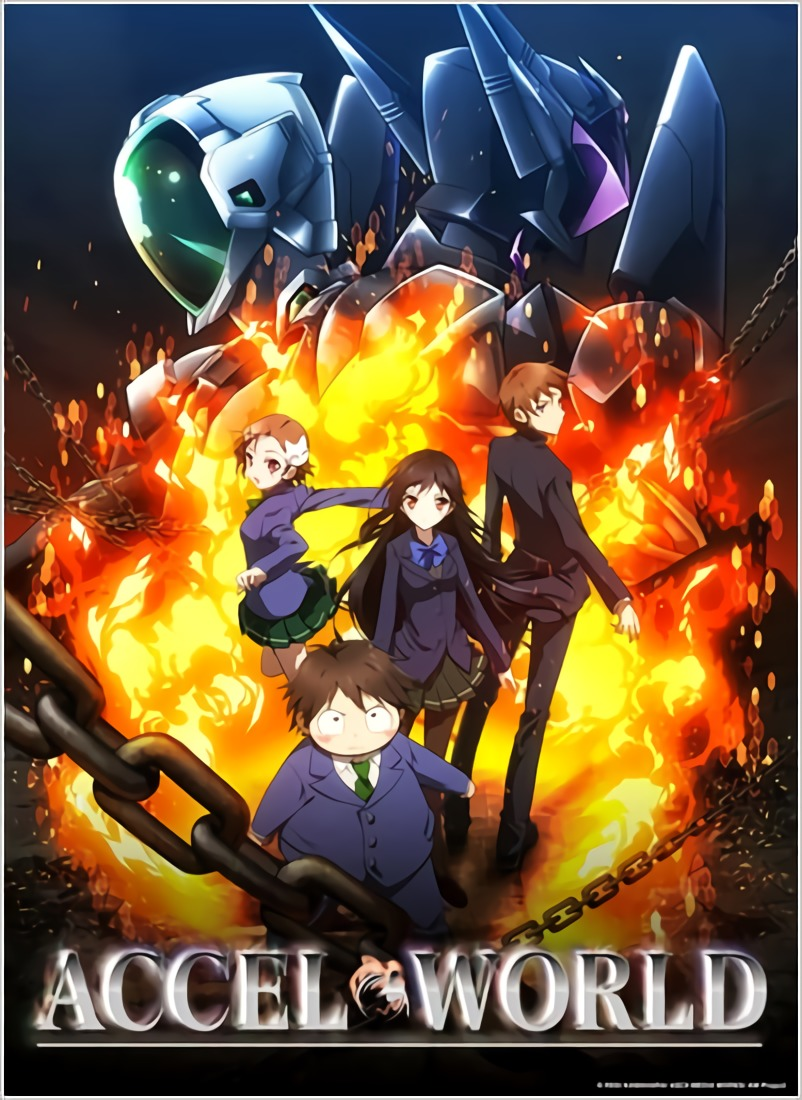Accel World BD + OVA Subtitle Indonesia