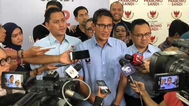Sumbangan Masyarakat untuk Kampanye Prabowo-Sandi Capai Rp134 Miliar