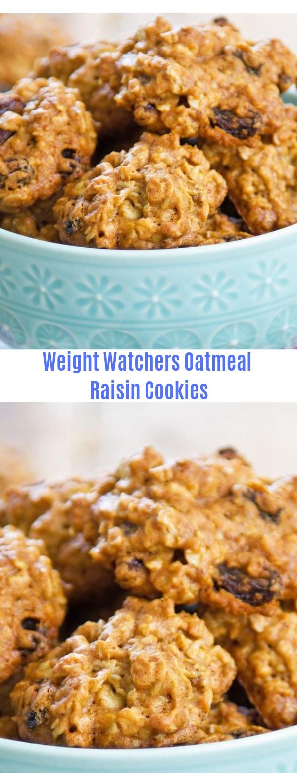 Weight Watchers Oatmeal Raisin Cookies