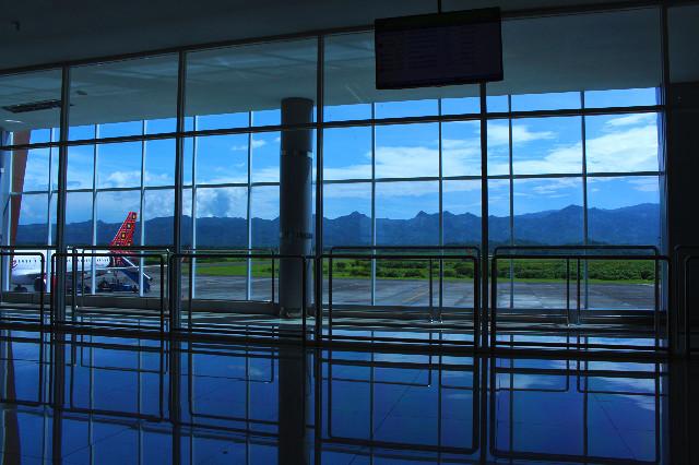 pemandangan boarding room bandara malang