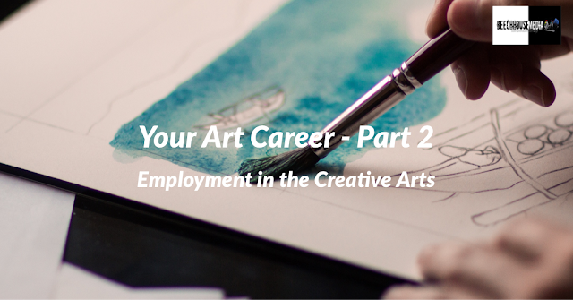 art career blog title image, drawing, sketch pad,
