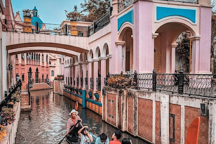 Harga Tiket Masuk Little Venice Kota Bunga September 2021
