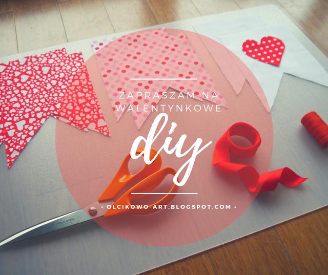 Girlanda Walentynkowa DIY