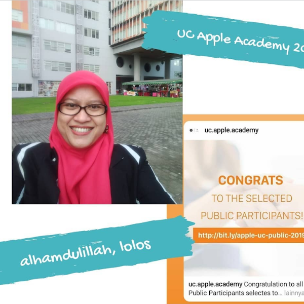 Alhamdulillah, Diterima di UC Apple Developer Academy 2019