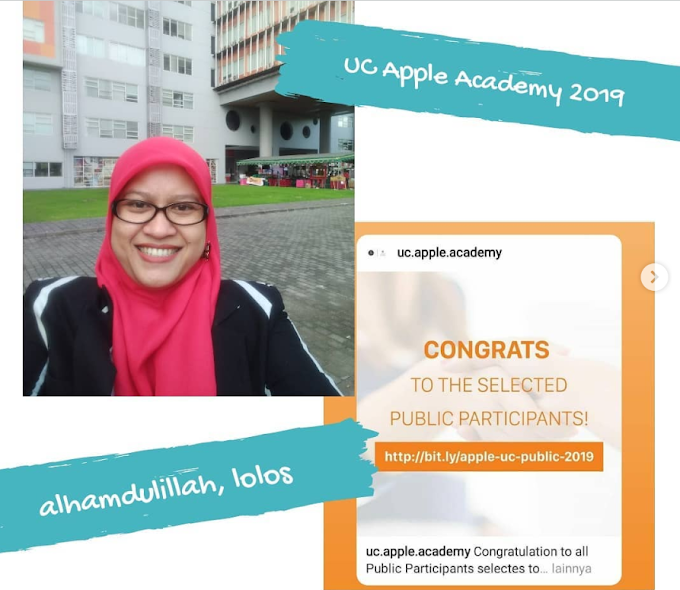Alhamdulillah, Diterima di UC Apple Developer Academy 2019