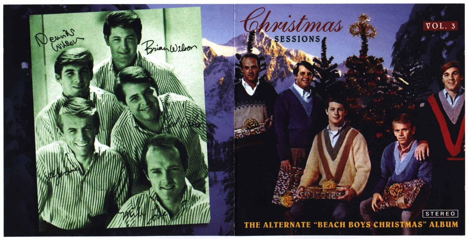 cd 3 the alternate beach boys christmas album 01 little sain nick vocal stereo mix 02 the man with all toys vocal overdub - Beach Boys Christmas Album