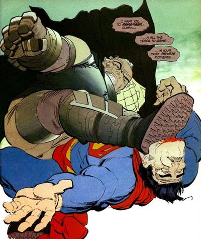 Batman acaba venciendo a Superman en The Dark Knight Returns