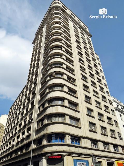Vista ampla do Edifício Santa Julia - Centro / Santa Ifigênia - São Paulo