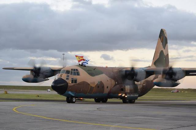Uruguay Spanish Air Force Hercules