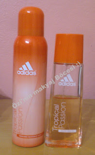 Adidas Passion Fruit Parfüm EDT-Deodorant
