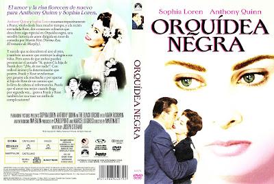 Carátula dvd: Orquídea negra