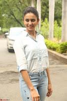 Rakul Preet Singh in Jeans and White Shirt At Jaya Janaki Nayaka le Logo Launch ~  Exclusive 023.JPG