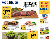 Food Lion Weekly Ad & Deals August 4 - 10, 2021