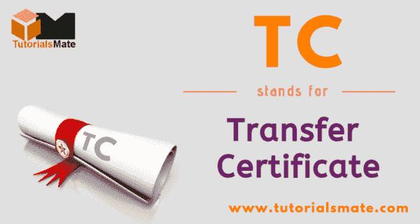 TC Full Form