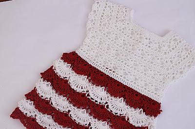 1 - Crochet Imagen Falda para canesú a crochet y ganchillo por Majovel Crochet