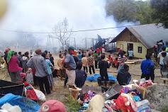 Empat Rumah di Samosir Terbakar, Dua Dibongkar