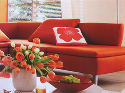 Decorating with orange like fruits and you will be happy with the ideas