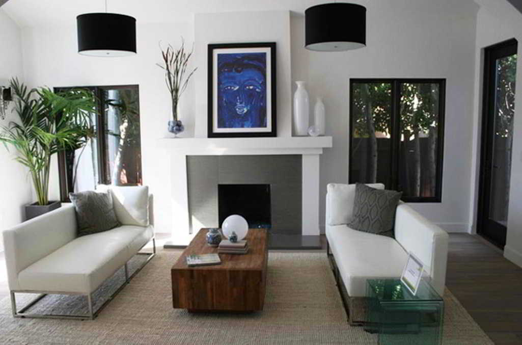 Ruang Tamu Minimalis Modern Sederhana