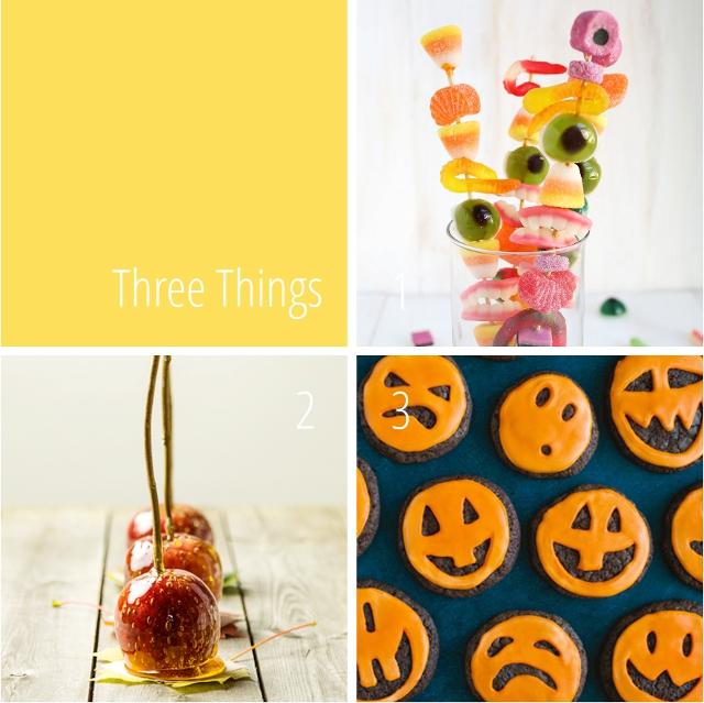 Three Things I Love: Last Minute Halloween Treats.