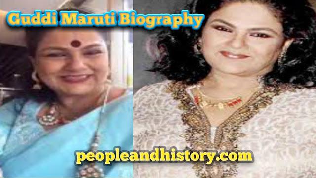 Guddi Maruti Biography